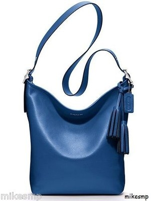 Coach Legacy Cobalt Blue Leather Crossbody Handbag. Have it in the XL ...
