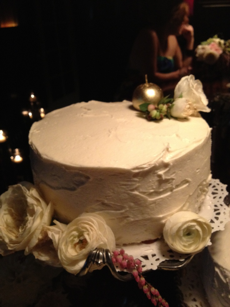 ... Meyer lemon chiffon layer cake with caramel and lavender lemon cream