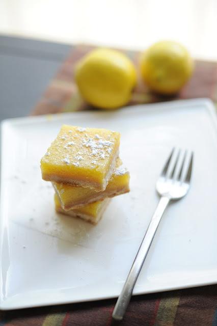 Classic tart lemon bars | Sweets To Make | Pinterest