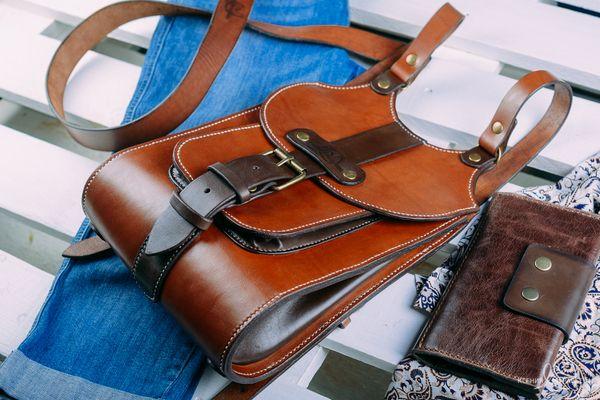 Как сделать кожаный рюкзак своими руками 44