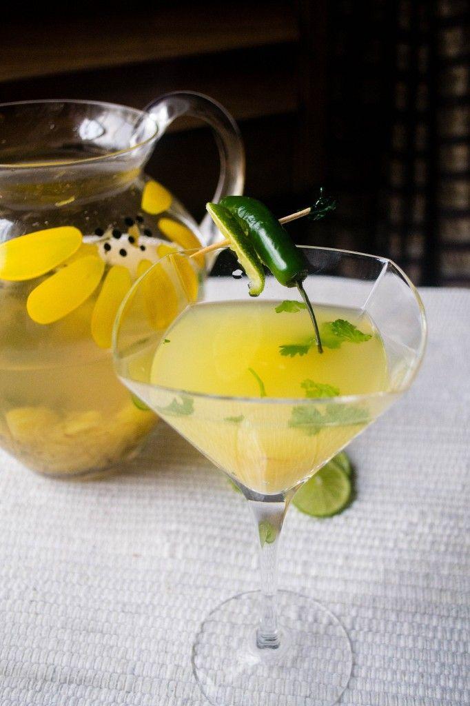 Pineapple Cilantro Serrano Cocktail Recipes — Dishmaps