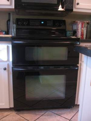 ... oven off of your countertop since most double ovens have the toasting
