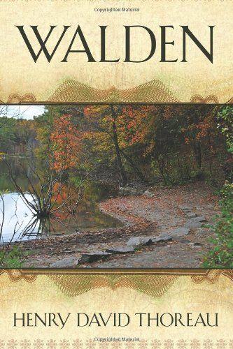 walden henry david thoreau essays