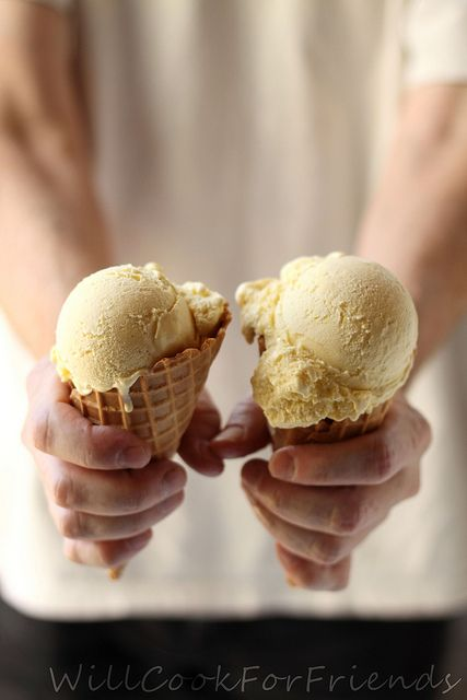 Very Vanilla Ice Cream | Sweet | Pinterest