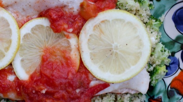 ... fail fish in foil and broccoli-feta couscous   Modern Family Cooking