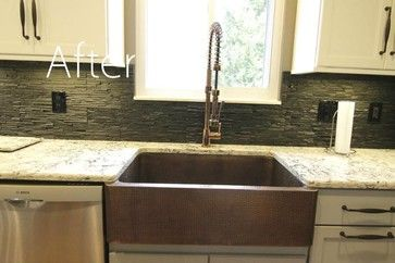 Remodel Kitchen Kemper Lawton Maple Door Style Wall Cabinets Are White Base Cabinets Are