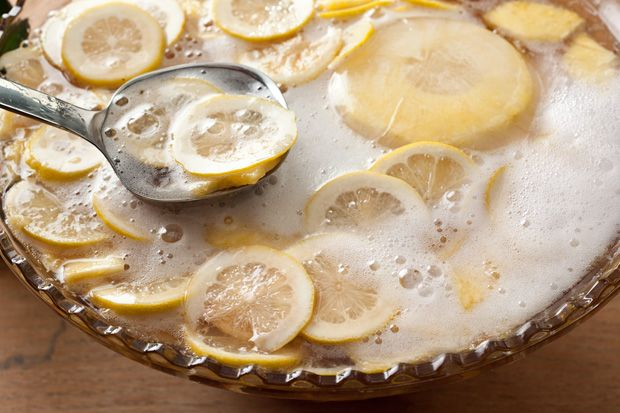 St. Cecilia's Punch Recipe - CHOW | Cocktails | Pinterest