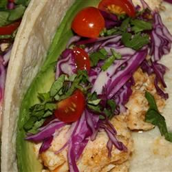 Grilled Fish Tacos with Chipotle-Lime Dressing | Recipe