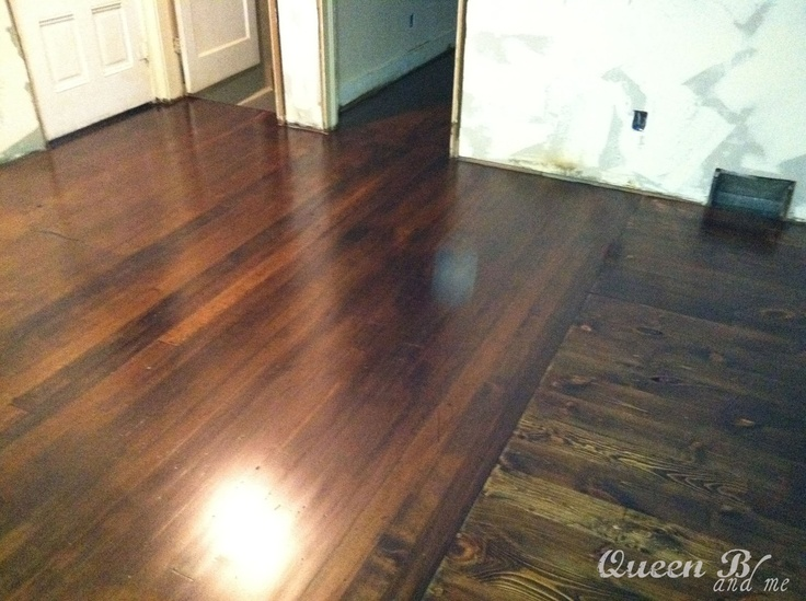 How to refinish hardwood floors home flooring pinterest for Type of floors in houses
