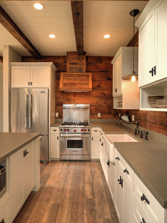 Barn Home Kits Traditional Kitchen Modern Rustic Barn Pinterest