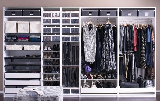 pin by brenda mckee on organizing tips closet pinterest. Black Bedroom Furniture Sets. Home Design Ideas