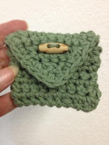 Small Crochet Bag bags Pinterest