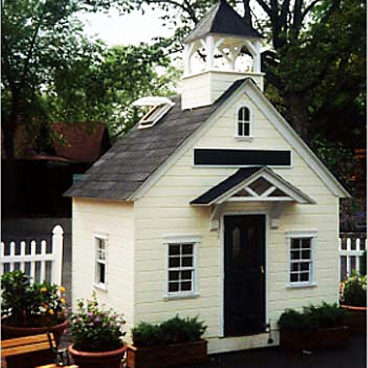 Schoolhouse playhouse home decor pinterest for School playhouse