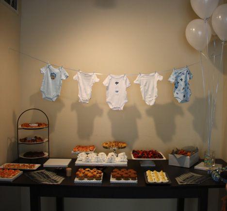 baby shower dessert table baby showers pinterest