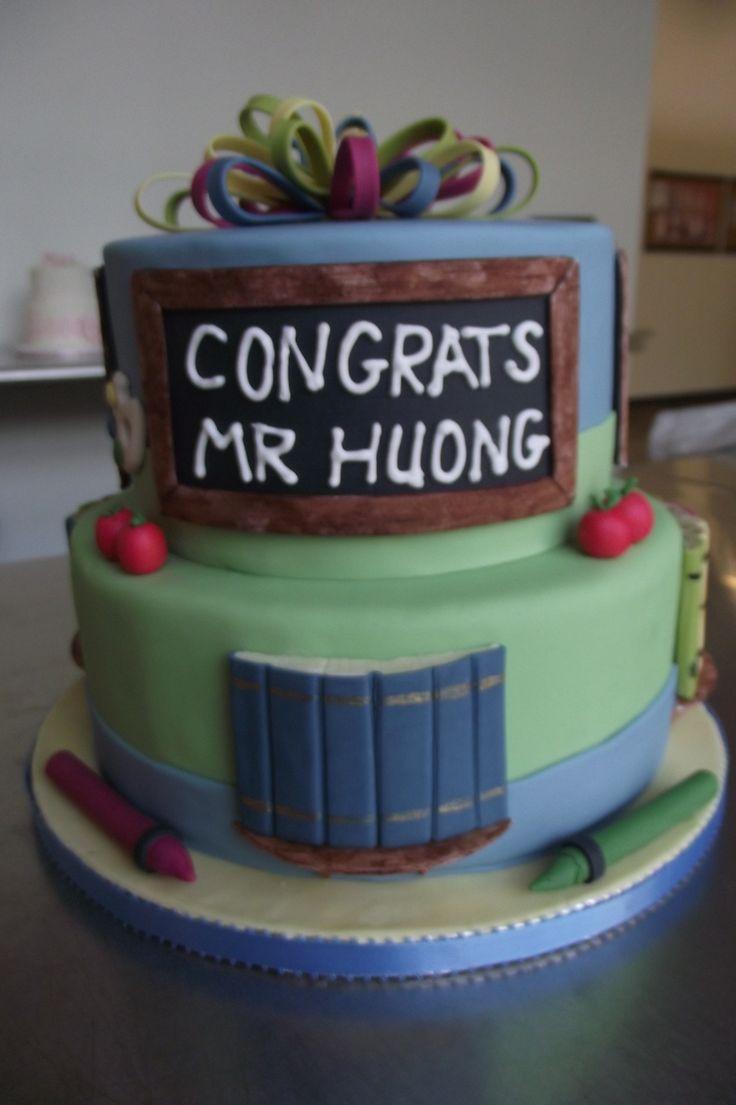 Teacher Retirement Cake Images : TEACHERS RETIREMENT CAKE Cakes Pinterest