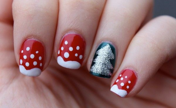 christmas nail art tumblr nail art decorations