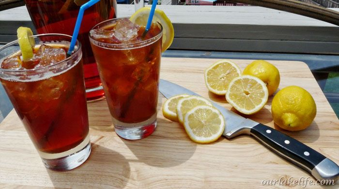 Fresh Brewed Ice Tea 1 | Recipes | Pinterest