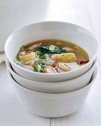 Ham, Escarole and Bean Stew Recipe on Food & Wine Chef Way Jose Garces ...