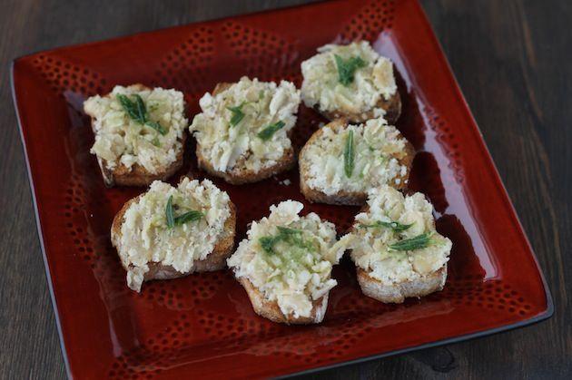 Jamie Oliver's White Bean Crostini Recipe - Health Is Happiness
