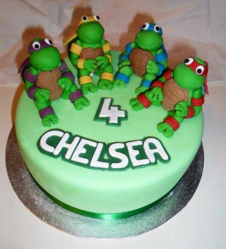 Ninja turtles birthday cake  Cakes  Pinterest