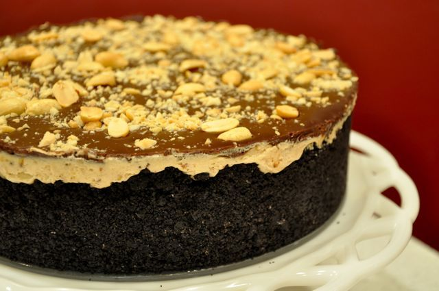 Chocolate Peanut Butter Torte | Baking @ Home | Pinterest