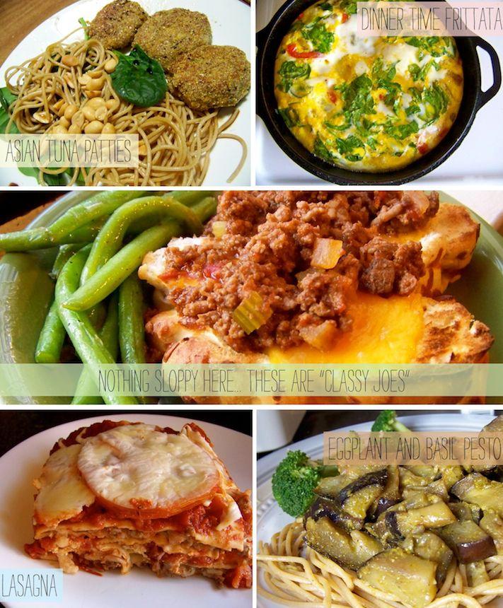 "... Frittata, Classy ""Joes"", THE best Lasagna, Eggplant and Basil P..."