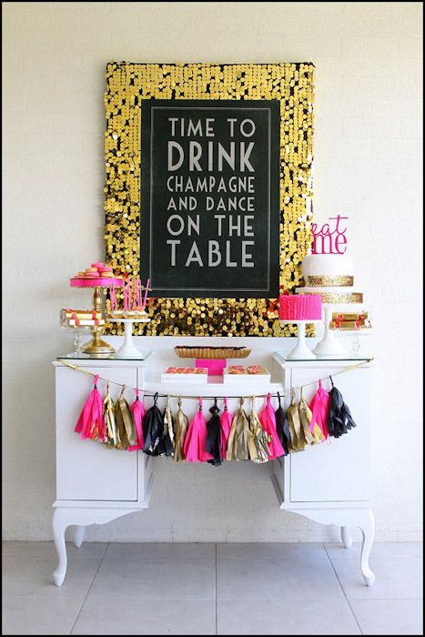 Un slogan perfecto para una fiesta 40 cumpleaños / A perfect slogan for a 40th birthday party