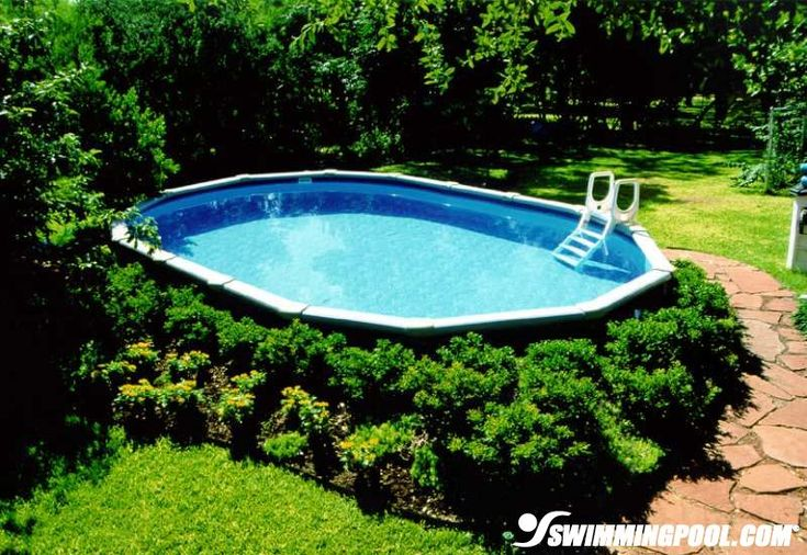 Landscaping Around Above Ground Pool Outdoors Pinterest