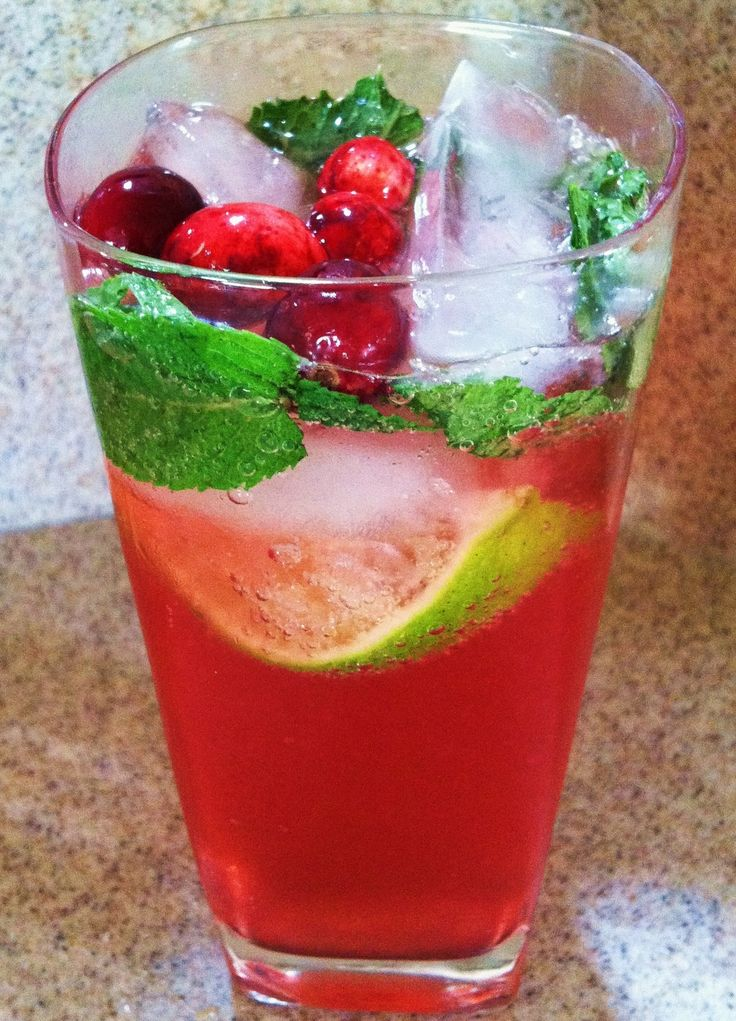 Cranberry Mojito (Pitcher Recipe) | get festive | Pinterest