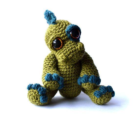 Dinosaur Amigurumi Crochet Pattern PDF Instant by PatchworkMoose, ?3 ...
