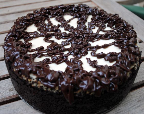 Cappuccino Fudge Cheesecake | chocoholic. | Pinterest