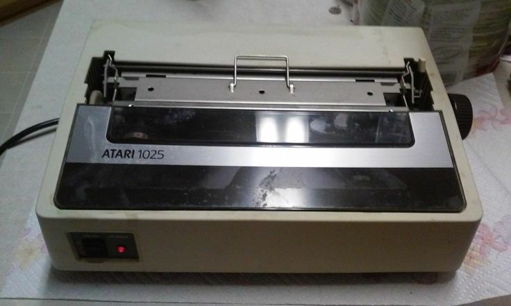 how to work dot matrix printer