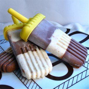 chocolate cheesecake popsicles | Homemade popsicles | Pinterest