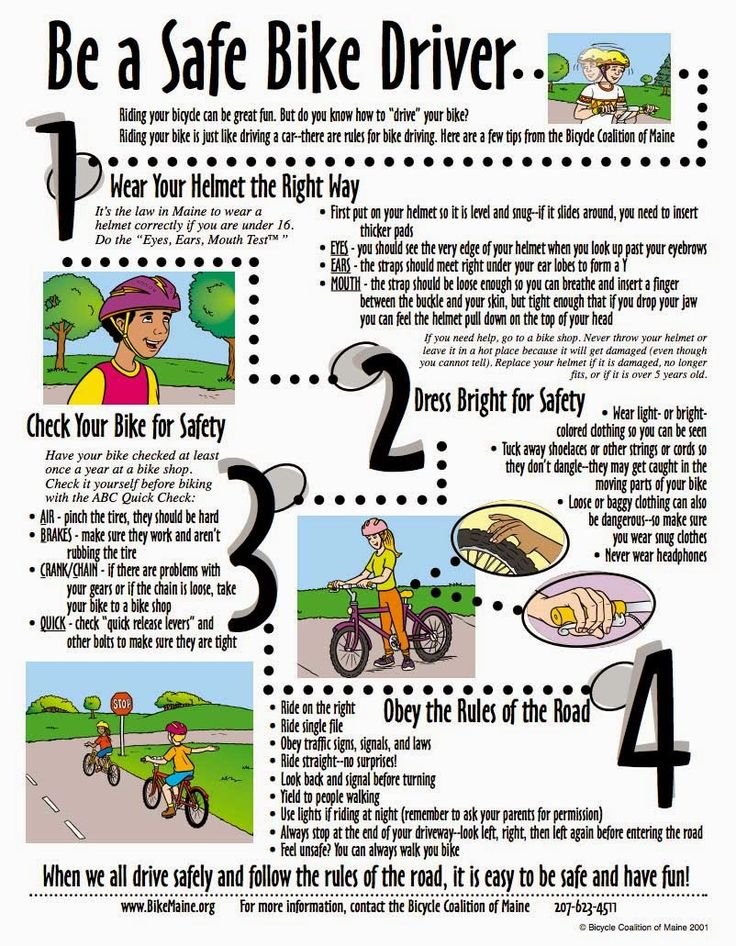 Emerson Villela Carvalho Jr., M.D.: Practice Biking Safety