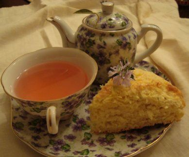 Lemon - Rosemary Cream Scones **kitchen success!**