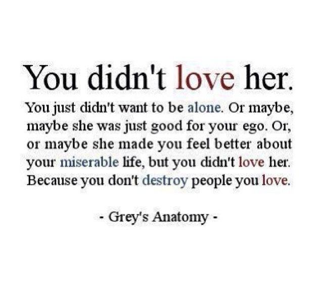Greys Anatomy I Love You Quotes. QuotesGram