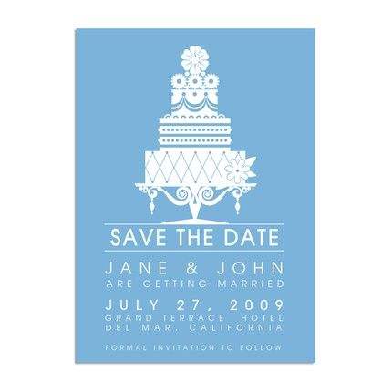 Save the date examples