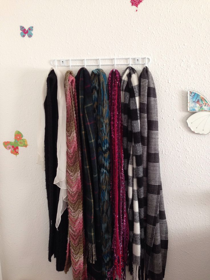 scarf rack dollar store home ideas