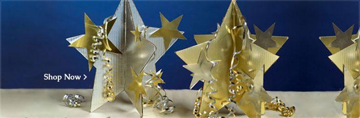 Star centerpieces starry night pinterest