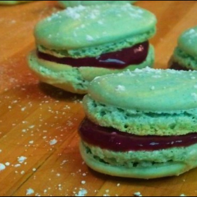 Blueberry Almond Macaroons Recipes — Dishmaps