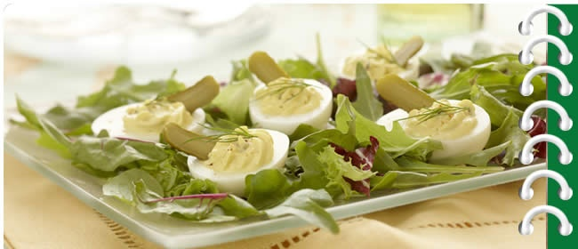 Devilled Egg Caesar Salad | Salads and Slaws | Pinterest