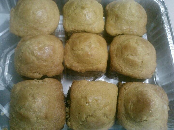 Sweet potato honey cornbread muffins | Madame Sucreríe Gourmet Cateri ...