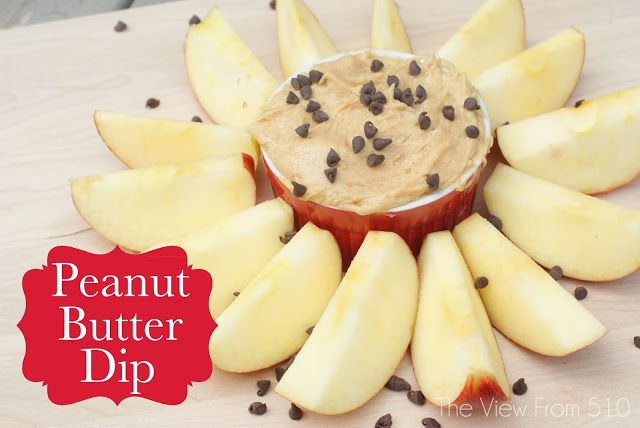 Peanut Butter Dip #recipe using just three ingredients!