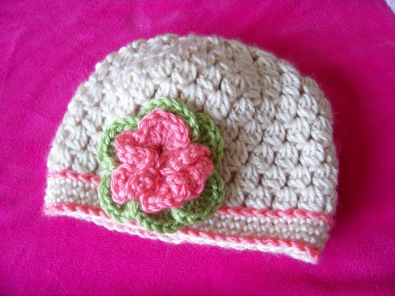 Crocheting Clusters : Crochet Cluster Stitch Hat Baby Child Crochet Pinterest