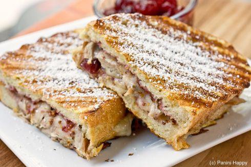 turkey monte cristo panini | sandwiches, wraps, paninis... | Pinterest