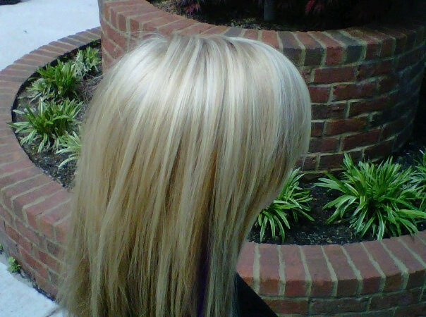 naturally blended blonde highlights and lowlights @ M Salon www ...