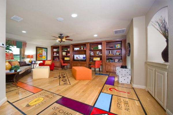 Game Room Flooring : Best game room floor ever home decor that rocks