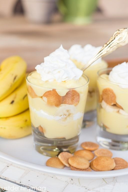 "Banana pudding cups | ""CrAfTy 2 ThE CoRe~DIY GaLoRe"" 