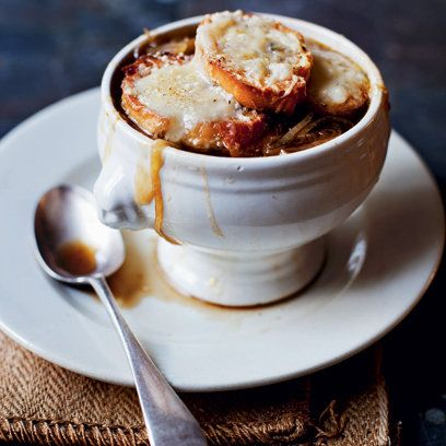 French Onion Soup. Find this & more winter warmer recipes at Red ...