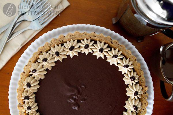 Chocolate Espresso Tart | Tartlets | Pinterest